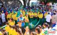 Inhumas recebeu ontem (18/07) os atletas da Caminhada Ecológica.