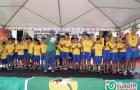 Cobertura do TUDOIN na celebração organizada em Inhumas para receber os atletas da Caminhada Ecológica 2014. Fotos por Mauro.