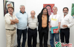 Cobertura do Tudoin na exposição fotográfica: Um recorte iconográfico da arte em Goiás, por Nonatto Coelho