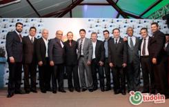 Fotos do evento que entregou o prêmio destaque lojista 2014 pelo CDL de Inhumas. Fotos por Jean Santos.