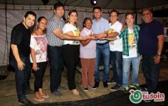 Fotos da entrega dos prêmios do Natal Prêmiado CDL 2015