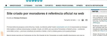 Acadêmica de Jornalismo da UNB pesquisa sobre o TUDOIN