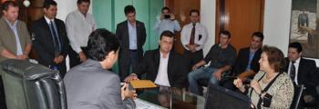 C�mara dos Vereadores de Inhumas teve a visita e reuni�o com a presidente do TRT a Desembargadora Elza Candida