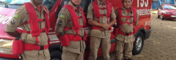 Corpo de Bombeiros Militar participa do Governo Junto de Você em Goianira