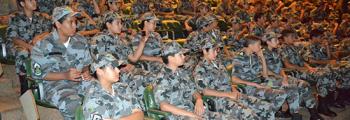 Crianças da Rede de Proteção Social visitam a base aérea de Anápolis