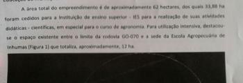 Disputa entre Uni-Anhanguera e Prefeitura de Inhumas