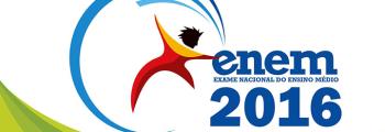 Locais de prova do Enem 2016 serão divulgados no próximo dia 18