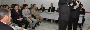 Marcelo Vila Verde assume cadeira na Câmara Municipal de Inhumas
