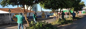 "Projeto ""Pintou Limpeza"" no setor José Antônio Ferreira"