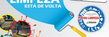 Prefeitura de Inhumas em ação com Projeto Pintou Limpeza
