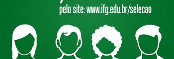 Vestibular para o IFG com inscrições abertas!