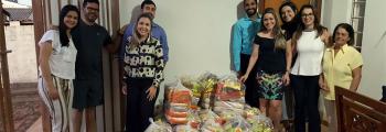 Comissão da Advocacia Jovem de Inhumas faz doação de cestas básicas à comunidade
