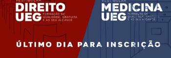 Inscrições para vestibular de Medicina e Direito da UEG encerram nesta quarta-feira (15)