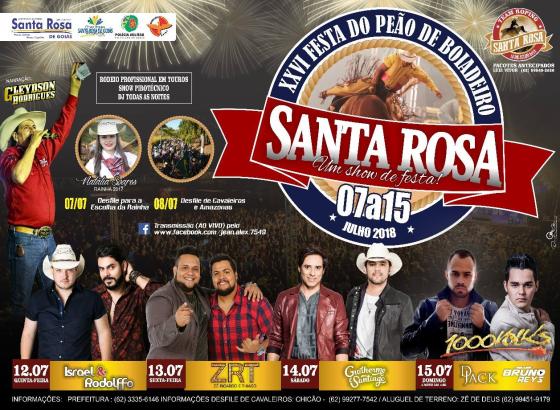 XXVI Festa do Peão de Boiadeiro de Santa Rosa