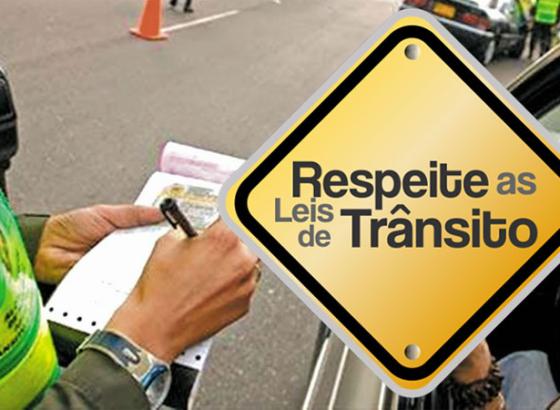 Fiscalização de trânsito em Inhumas! Saiba o que fazer para não ser multado.