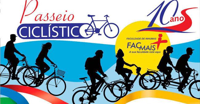 FacMais celebra 10 anos e realiza seu primeiro Passeio Cicl�stico