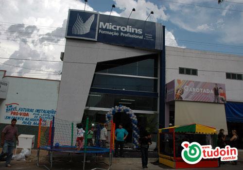 TUDOIN - Galerias de Imagens - Inauguração Microlins