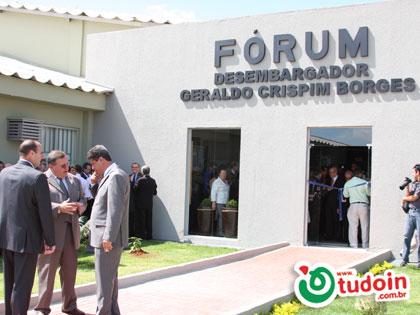 TUDOIN - Galerias de Imagens - Inauguração do Fórum