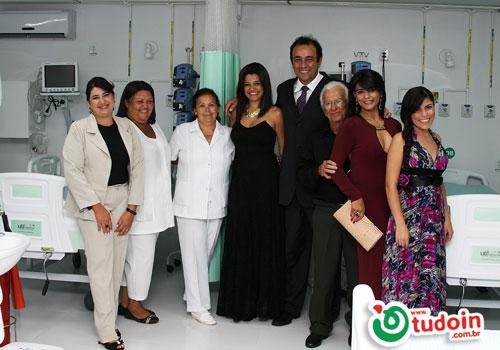 TUDOIN - Galerias de Imagens - Inauguração UTI - Hospital Latifa