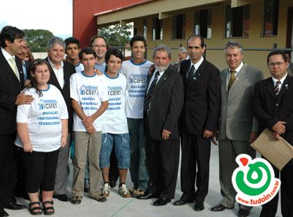 TUDOIN - Galerias de Imagens - Visita de Lula a Inhumas