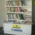 Público ignora biblioteca aberta à população em Inhumas