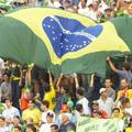 Inhumenses comemoram vitória do Brasil