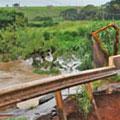 Ponte provisória na GO-070 deve ser liberada até a próxima