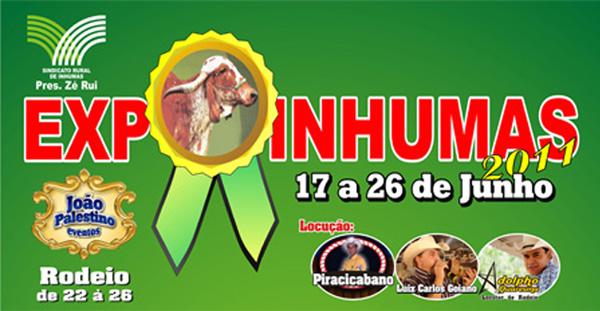 Inhumas abre Exposição Agropecuária nesta quarta