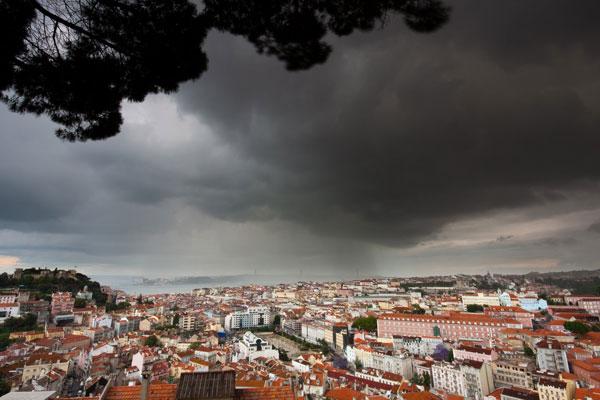 Previsão de chuva para todo o Estado