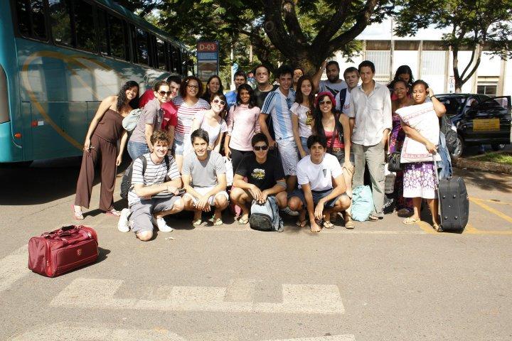 Universitários da UNB pesquisam sobre a cidade de Inhumas