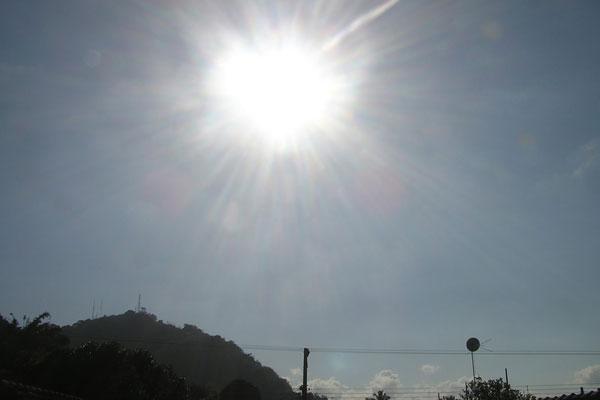 Temperatura elevada prolonga durante o fim de semana