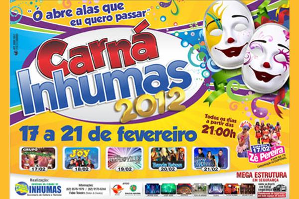 Vem aí o Carná Inhumas 2012!