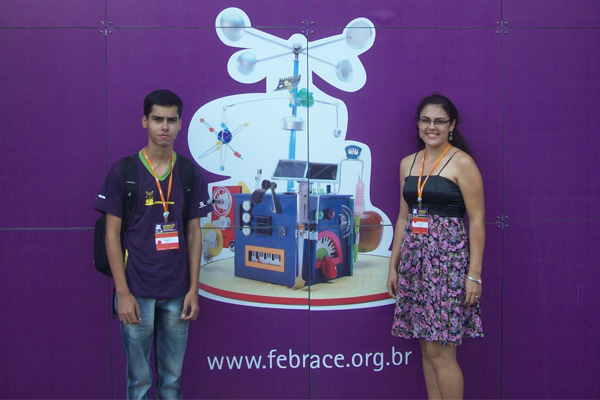 Alunos do IFG - Inhumas são premiados na Febrace 2012
