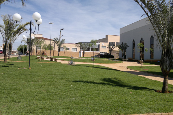 Praça da Matriz de SantAna é revitalizada