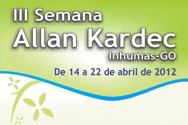 Aliança Espírita de Inhumas realiza III Semana Allan Kardec