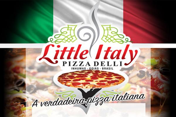 Pizzaria Little Italy lança cardápio online