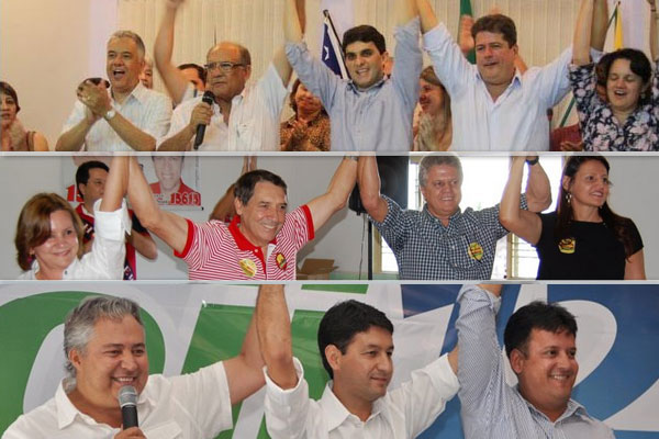 Convenções definem candidatos a prefeito por Inhumas