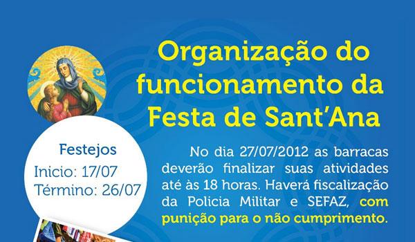 Último dia da Festa de SantAna deste ano em Inhumas