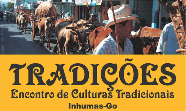 CONVITE - ENCONTRO DE CULTURAS TRADICIONAIS DE INHUMAS