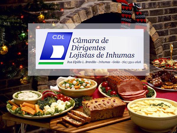CDL Inhumas - Horário Natalino de 2012