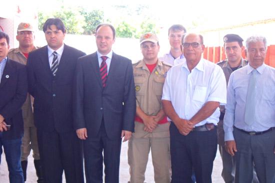 9ª CIBM de Inhumas recebe visita do Secretario de Segurança Publica do Estado de Goiás