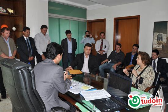 Câmara dos Vereadores de Inhumas teve a visita e reunião com a presidente do TRT a Desembargadora Elza Candida