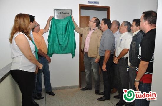 Prefeito Dioji Ikeda inaugura nova sede do Funpresi