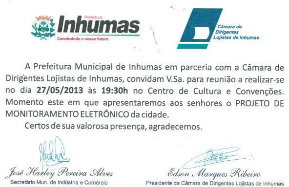 Reunião de apresentação do Projeto de Monitoramento Eletrônico