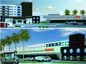 Os projetos de construção de novos hospitais em Goiânia e no interior já estão em andamento
