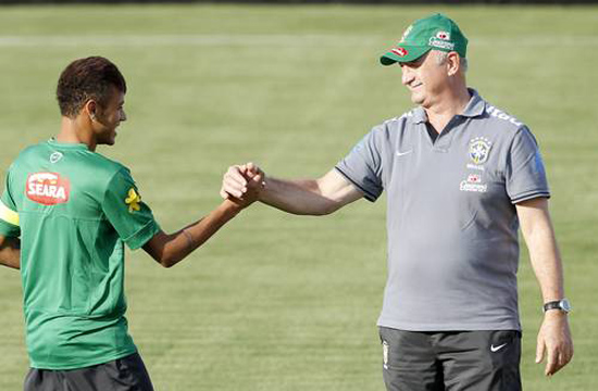 Seleção brasileira em Goiânia
