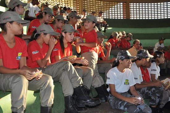 1ª Alvorada Militar - Rede de Proteção Social