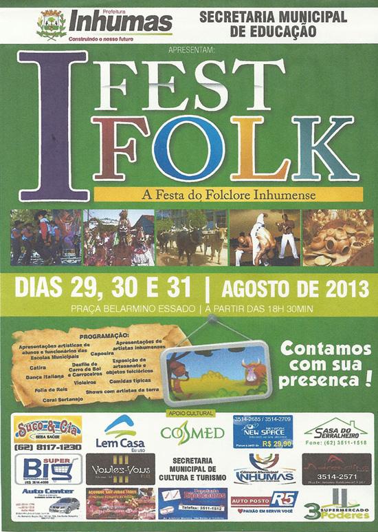 I Fest Folk - A Festa do Folclore Inhumense