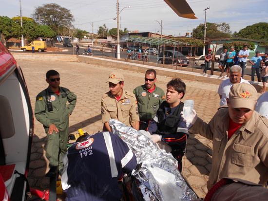 Colisão de veículo escolar deixa nove feridos em Inhumas