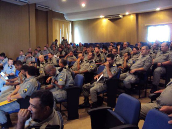 Policiais militares da 23ª CIPM recebem homenagem por bons serviços prestados